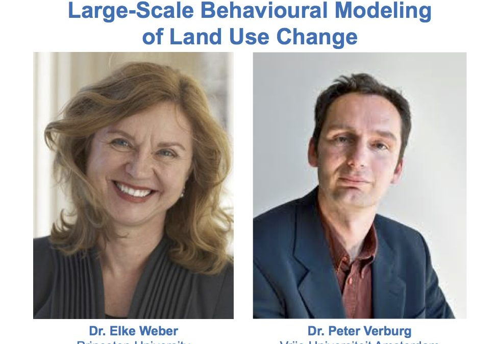 Webinar: Is the idea of large-scale behavioural modelling realistic?