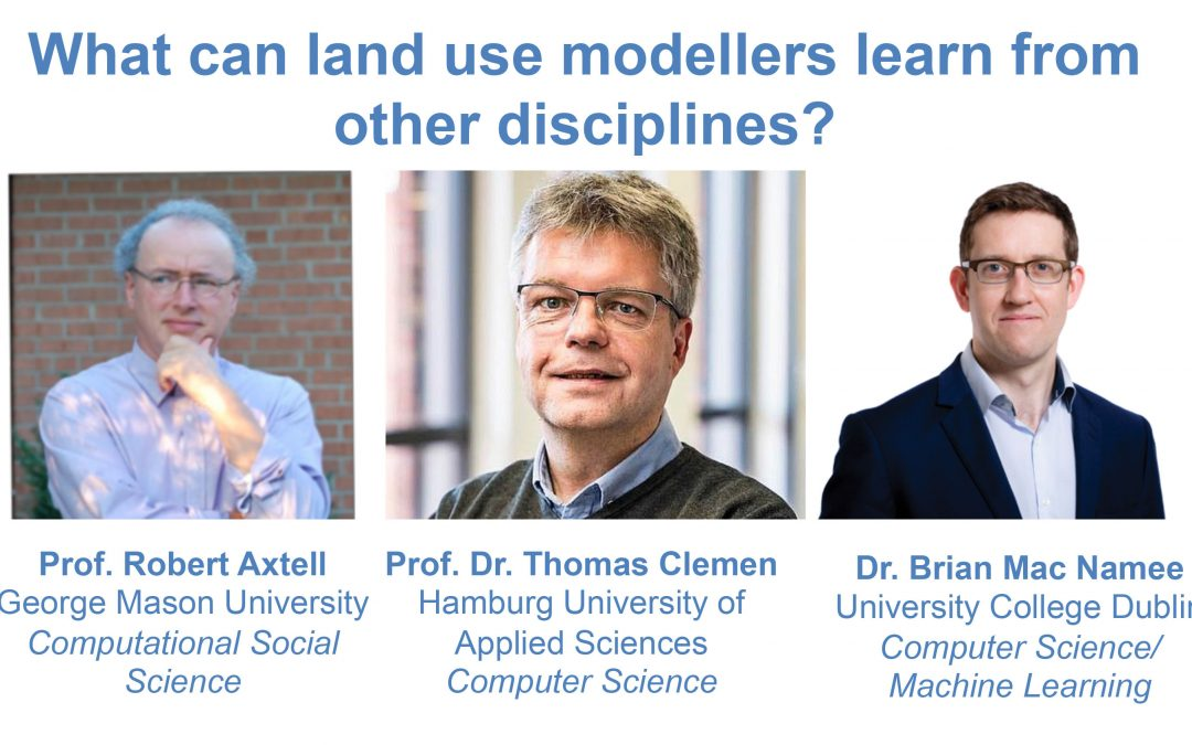 Large scale behavioural models webinar: The role of machine learning, game design & parallelization in the future of land use modelling