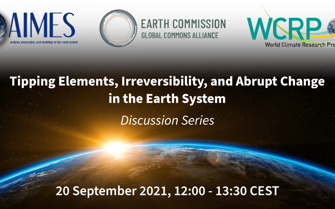 Discussion Series: Tipping elements, irreversibility, and abrupt change in the Earth system